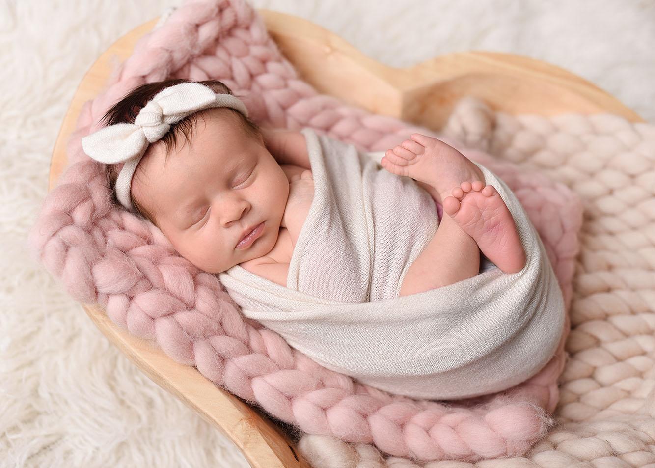 Sesja noworodkowa - Liwia
