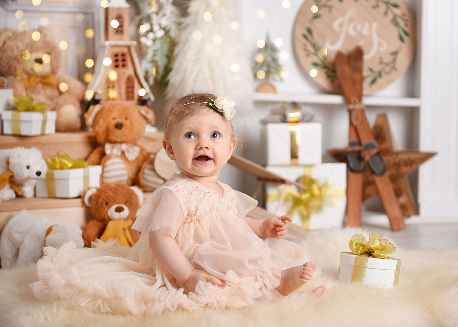 Sesja niemowlęca Solomijki