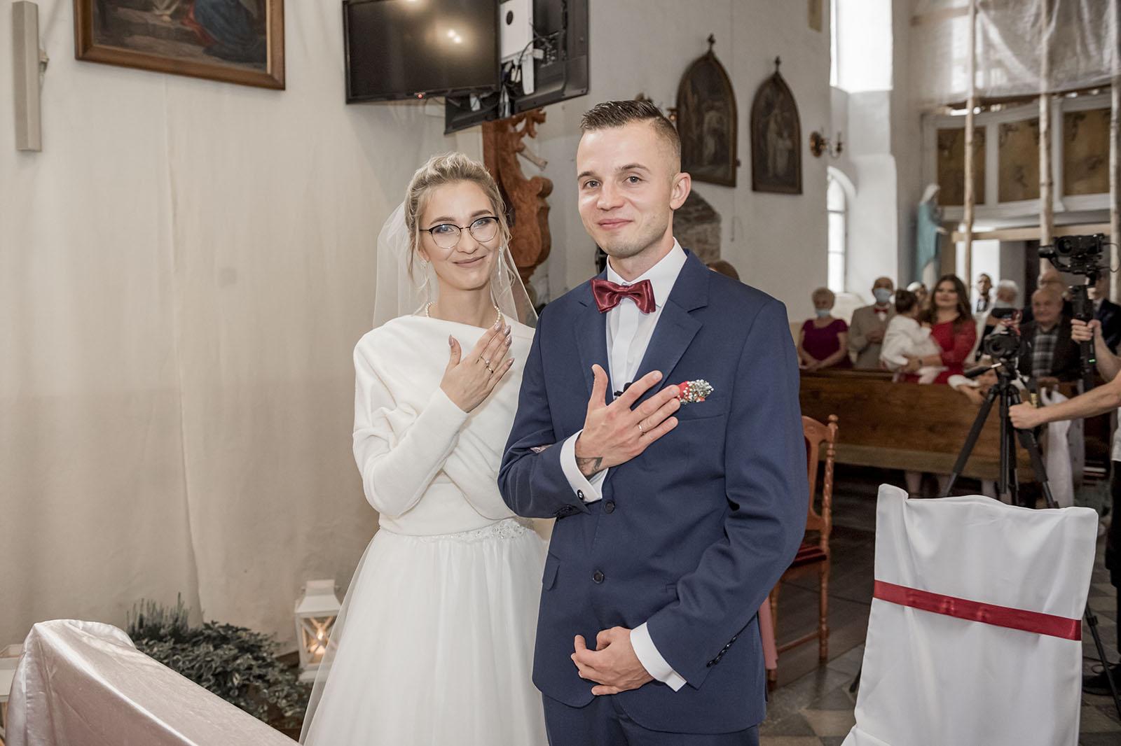 Ślub Amandy i Sebastiana